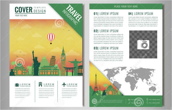 travel tourism business brochure