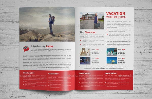 Holiday Travel Business Brochure