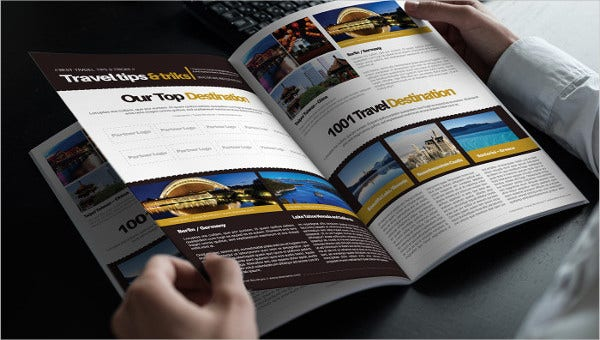 7+ Travel Business Brochures - Designs, Templates | Free