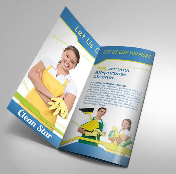 Commercial Cleaning Company Brochure