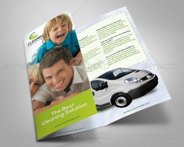 cleaning company product brochure1