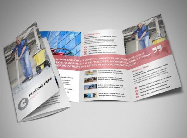cleaning portfolio company brochure