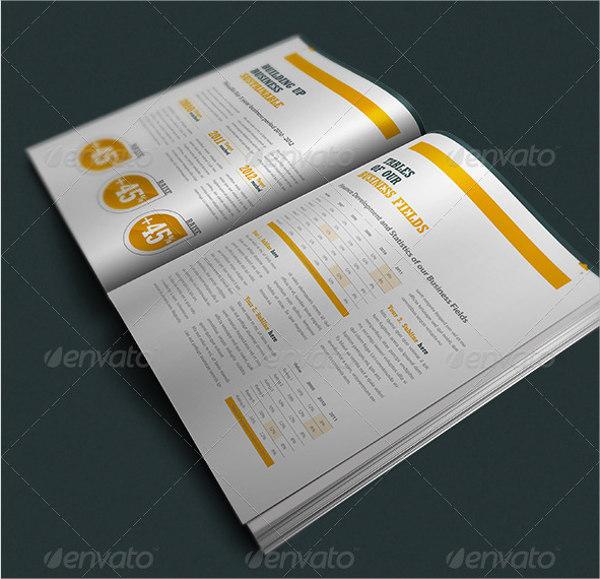 corporate event company brochure