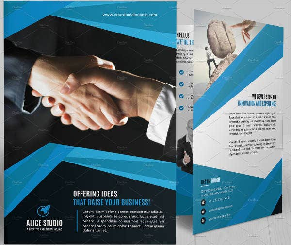 it company bifold brochure