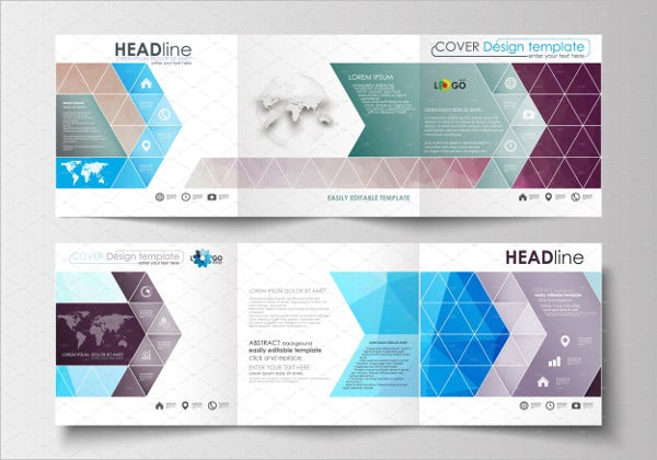 event advertising company brochure