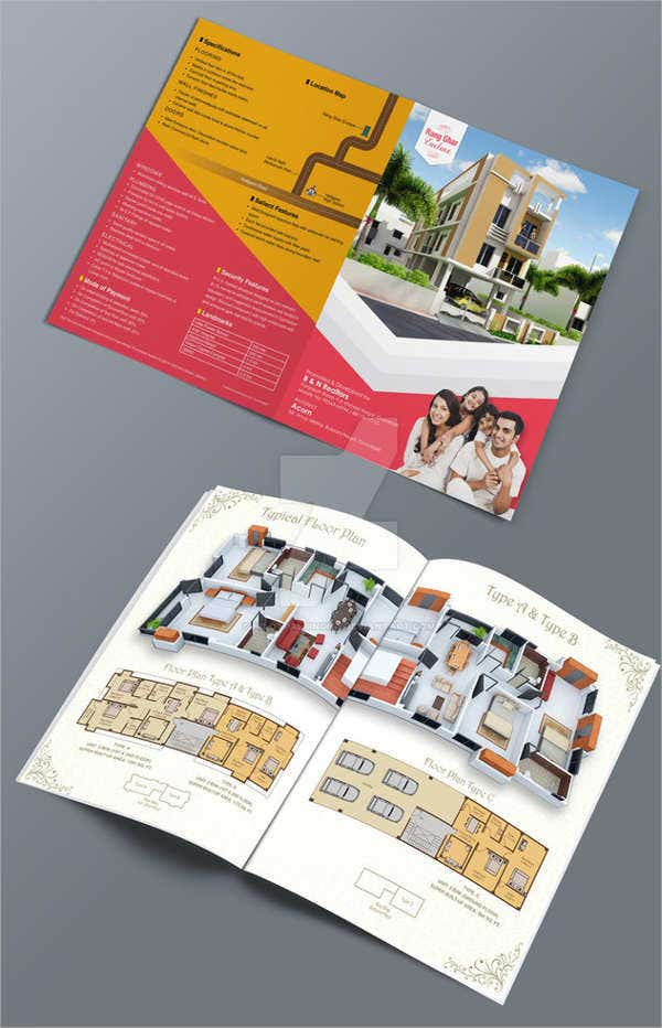 real-estate-company-bifold-brochure