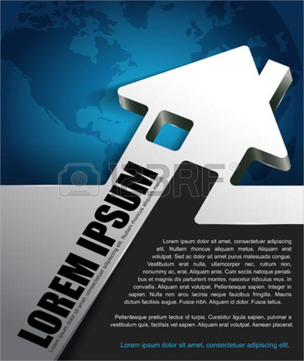 real estate company marketing brochure