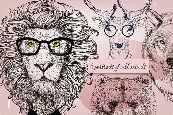 wild-animal-sketch