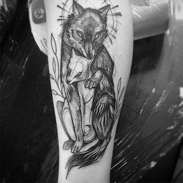 animal-tattoo-sketch