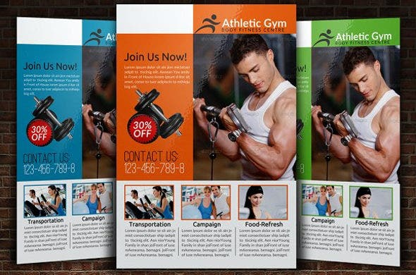 health and body fitness flyer1