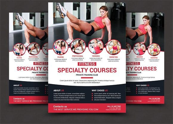 health and fitness sports flyer1