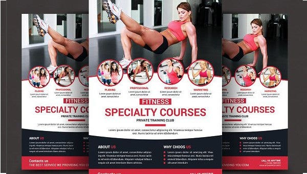 health and fitness flyer1