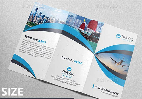 Travel Company Brochures  Designs Templates  Free  Premium