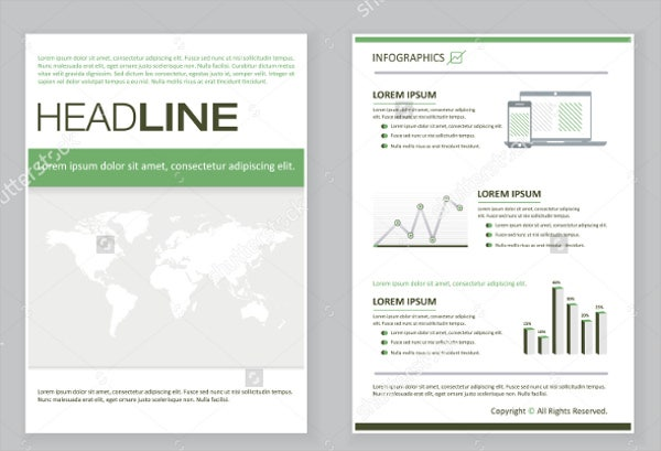 sample event company brochure