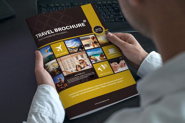 travel business indesign brochure1