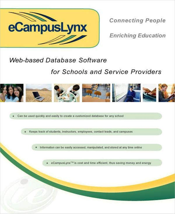 software company profile brochure