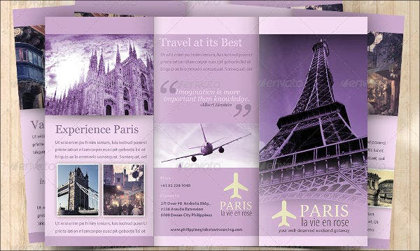 travel business tri fold brochure1