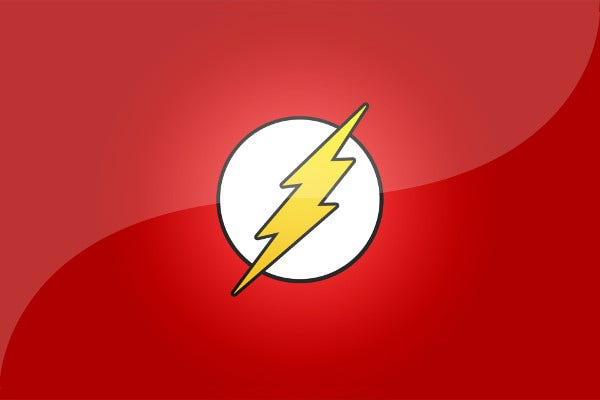 branding flash logo