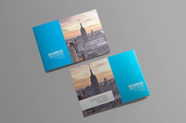 branding landscape company brochure