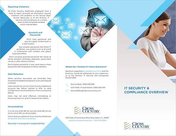 9 Security Company Brochures Designs Templates Free Premium