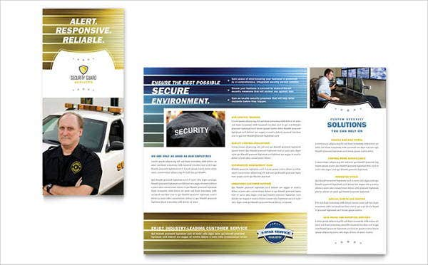 15 Security Company Brochures Designs Templates Free