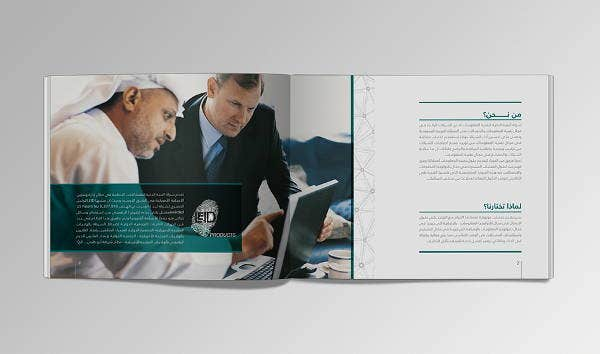security systems company brochure