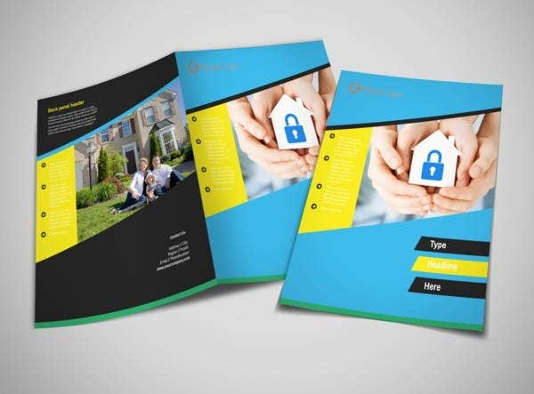 Security Company Brochures Designs Templates Free