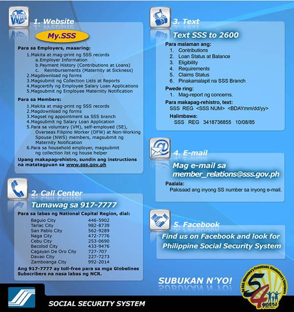 social security company brochure