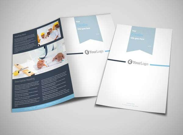 engineering services company brochure