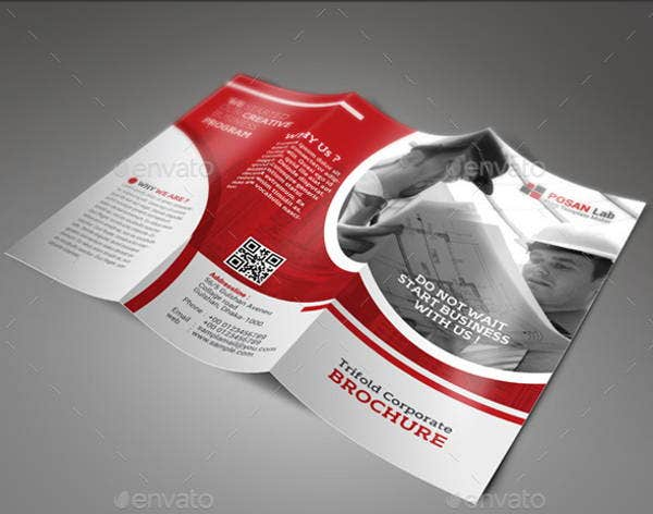 corporate engineering company brochure