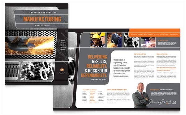 manufacturing engineering company brochure