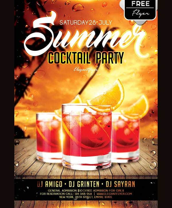 summer-cocktail-party-flyer