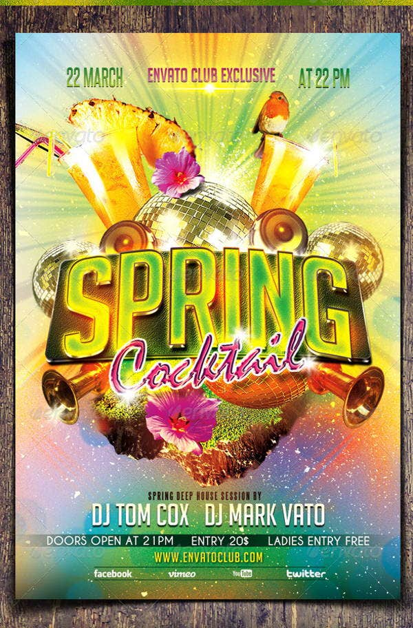 spring-cocktail-party-flyer