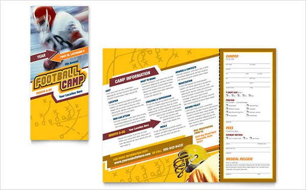 sports-camp-event-brochure