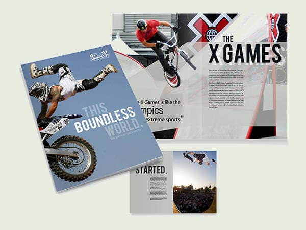 Sports Event Brochures  Designs Templates  Free  Premium