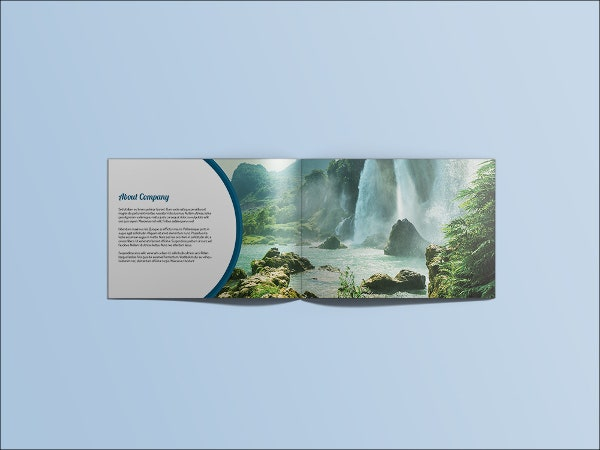 landscape travel business brochure1