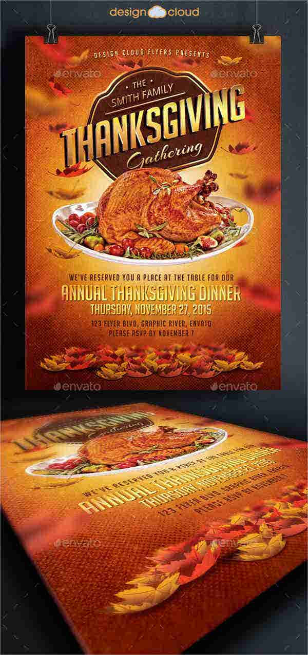 Dinner Party Flyers  Design Templates  Free  Premium Templates