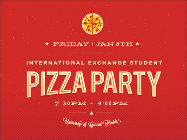 14 pizza party flyer template in psd word publisher free