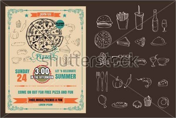 vintage-pizza-party-flyer