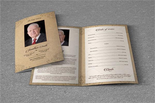Funeral Event Bifold Brochure