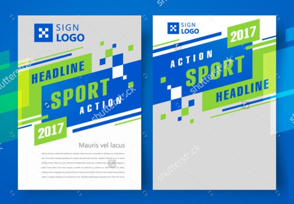 Sports Event Promotional Flyer