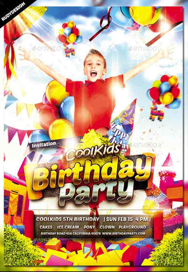 kid party flyers nede whyanything co