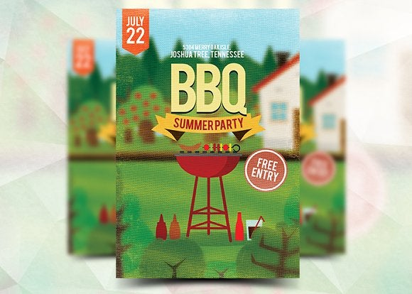 9 summer event flyers design templates free premium templates summer bbq event flyer maxwellsz