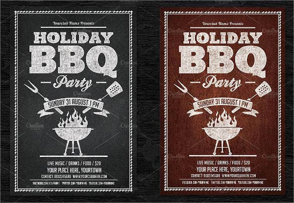 Bbq Party Flyers  Designs Templates  Free  Premium Templates