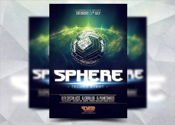 sphere-club-event-flyer