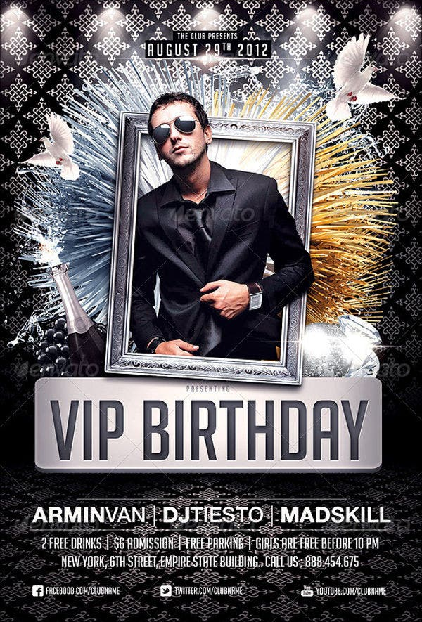 vip-birthday-party-flyer