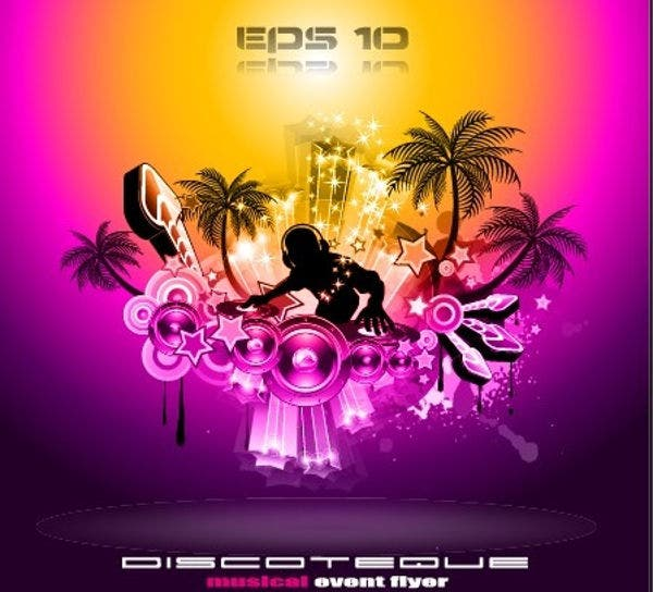 Club Disco Party Flyer