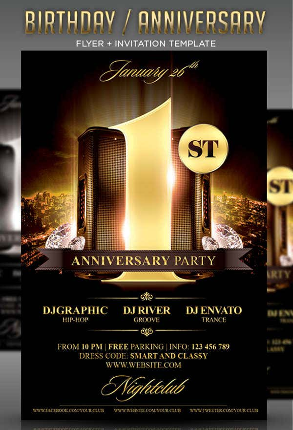 birthday-anniversary-party-flyer