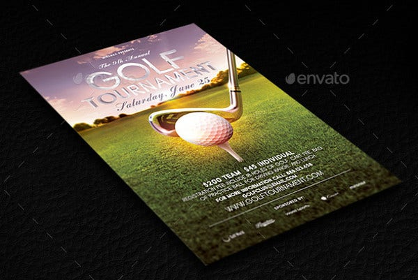 Golf Event Club Flyer
