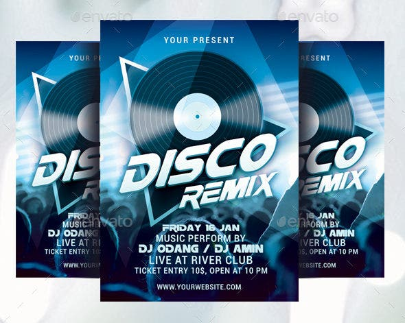 disco-remix-party-flyer